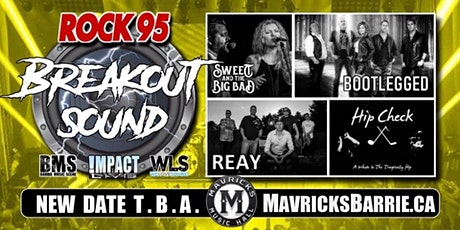 ROCK 95 BREAKOUT SOUND: Bootlegged, Reay, Sweet & The Big Bad + HIP CHECK tickets