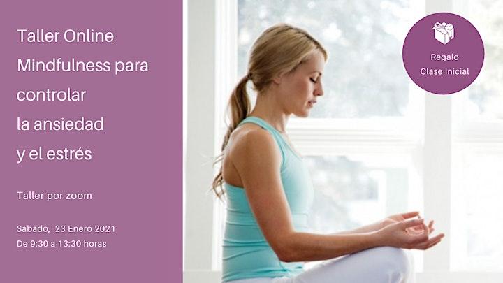 Imagen de Taller Mindfulness para controlar la ansiedad y el estrés.