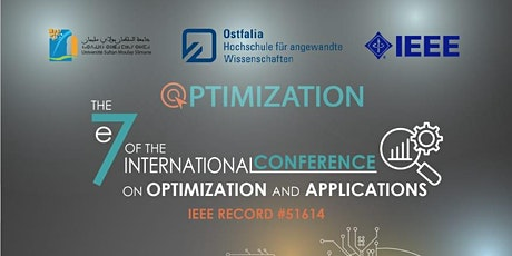 International Conference on Optimization and Applications(ICOA)-7th Edition tickets