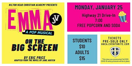 EMMA JV:  On the Big Screen @ Highway 21 Drive-In tickets