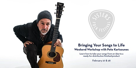 Bringing Your Songs to Life Weekend Workshop  (VIRTUAL) tickets