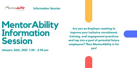 MentorAbility Alberta Information Session tickets