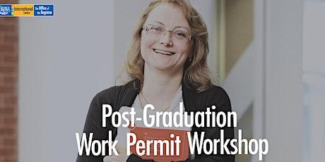 Post Graduate Work Permit Online Information Session tickets