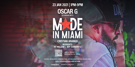 OSCAR G: MADE IN MIAMI tickets