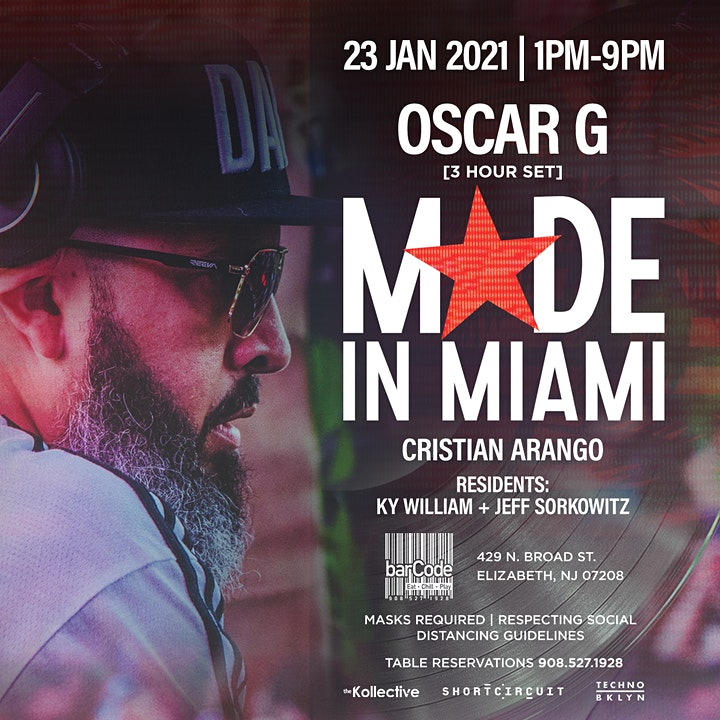 OSCAR G: MADE IN MIAMI image