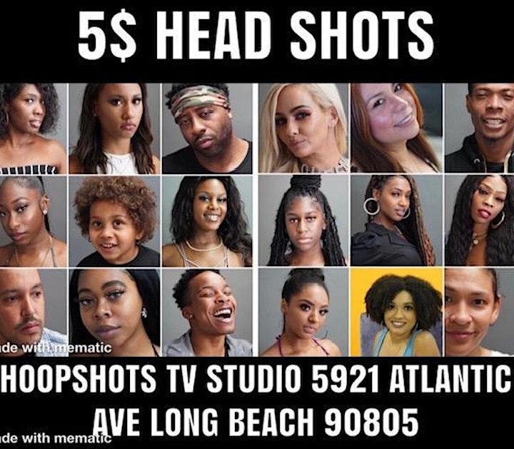 HOOPSHOTS TV MOVIE AUDITION /  $5 HEAD SHOTS image