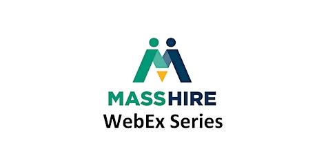 TAA Program WebEx Series - Trade Readjustment Allowance tickets