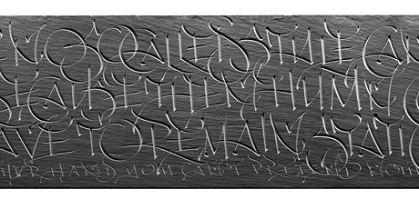 Stone Carved Lettering and the Digital Age tickets