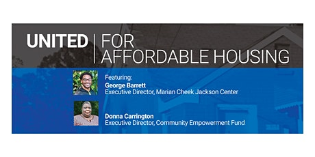 Justice Series: United For Affordable Housing tickets