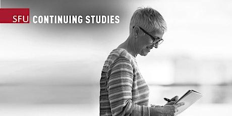 Editing Certificate Info Session (Online) — October 6, 2021 ingressos