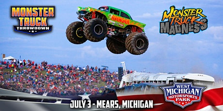 MONSTER TRUCK MADNESS - July 3, 2021 tickets