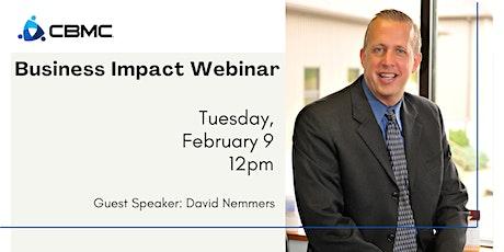 CBMC Business Impact Webinar tickets