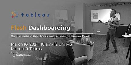 Flash Dashboarding | Tableau biglietti