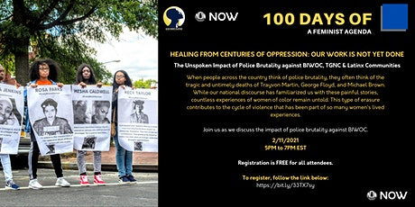 The Unspoken Impact of Police Brutality against BIWOC, TGNC & Latinx Commun tickets