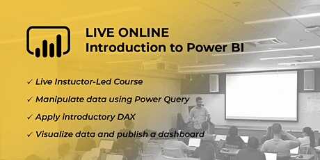 Introduction to Power BI and DAX | Virtual 2 Day tickets