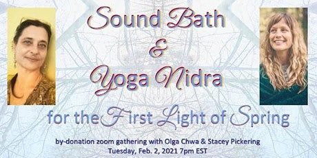 Sound Bath and Yoga Nidra for the First Light of Spring tickets