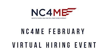 NC4ME February Virtual Hiring Event tickets