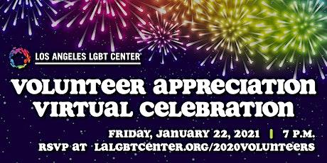 2020 Volunteer Appreciation Virtual Celebration! tickets