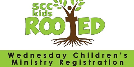 SCC Children's Ministry Wed Reg. 1/13-5/19/2021 tickets
