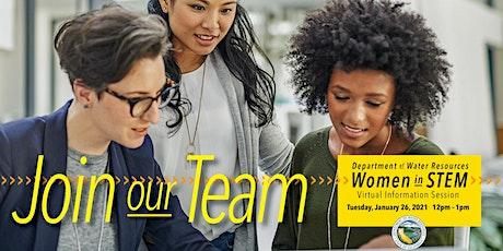 Department of Water Resources Women in STEM tickets