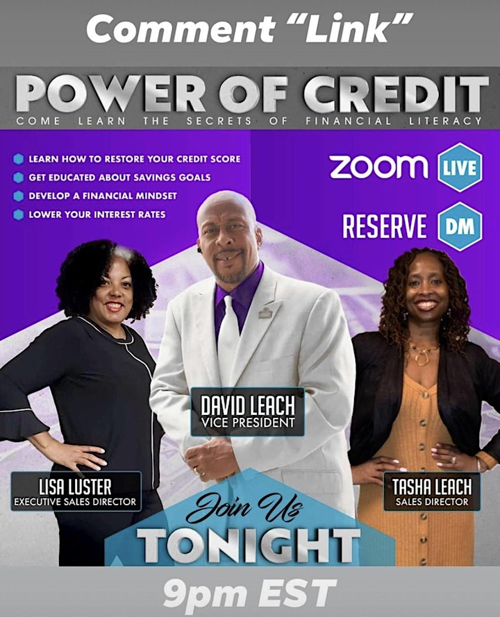 POWER OF CREDIT & WEALTH TALK image