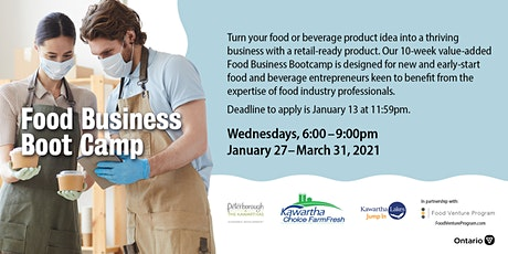 10-Week Value-Added Food Business Bootcamp tickets