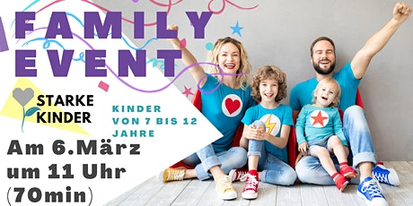 Family Event |Resilienz  Training Kinder  |  7-12 Jahren Tickets
