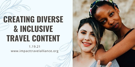 Creating Diverse and Inclusive Travel Content tickets