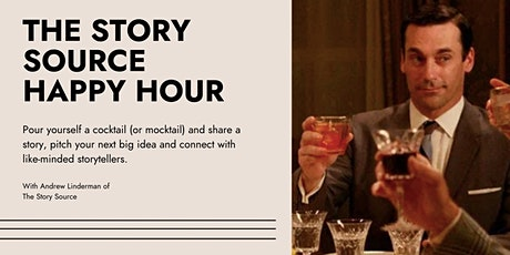 The Story Source Happy Hour (FREE EVENT) tickets