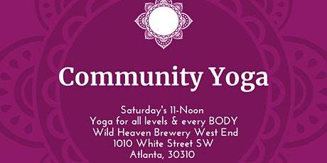West End Community Yoga tickets