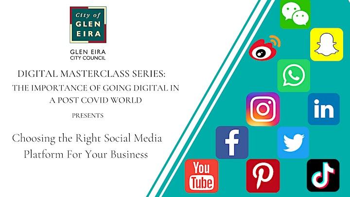 Digital Masterclass Series: Choosing the Right Social Media Channel image