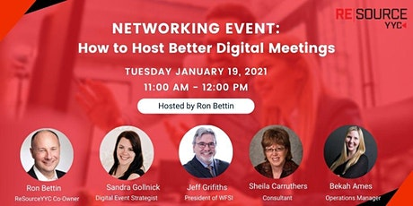 How to Host Better Digital Meetings tickets
