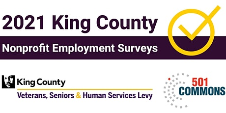 2021 King County Nonprofit Employment Surveys - Community Meeting tickets