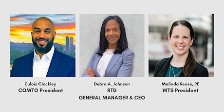 COMTO + WTS  Welcome Reception for Debra A. Johnson, RTD GM/CEO tickets