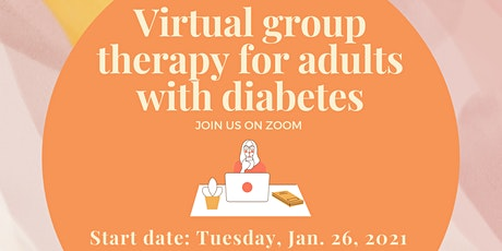 Virtual Group Therapy for Adults with Diabetes entradas