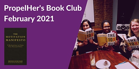PropelHer's Book Club: February 2021 - The Motivation Manifesto tickets