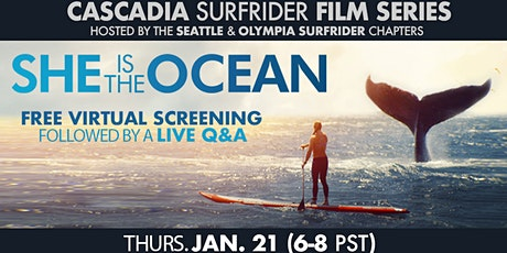 Surfrider Washington's Cascadia Film Series: She Is The Ocean tickets