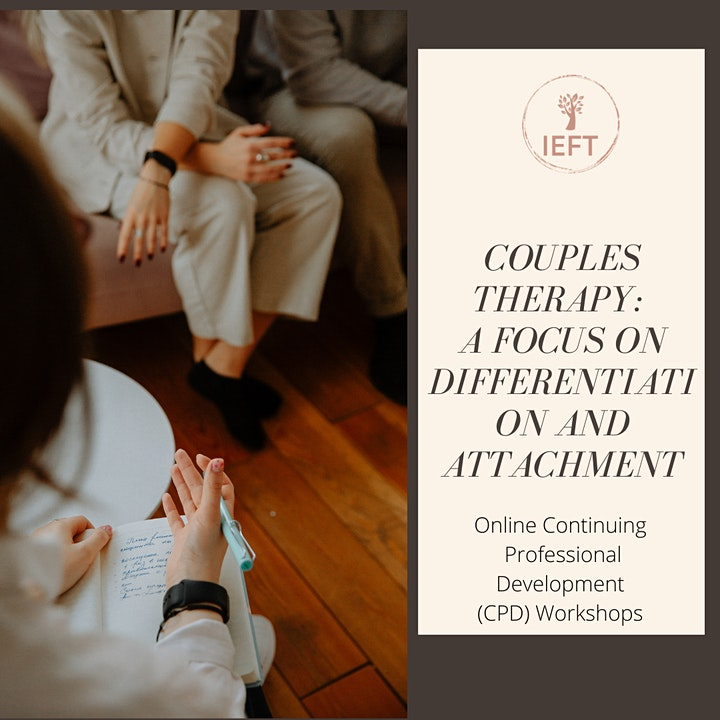 COUPLES THERAPY: A FOCUS ON DIFFERENTIATION AND ATTACHMENT image