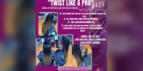 """TWIST LIKE A PRO"" Hands-On Twisting Class tickets"