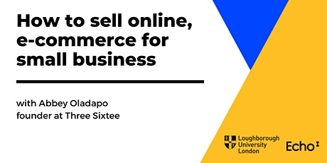 How to sell online, e-commerce for small business tickets