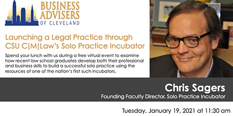 Launching a Legal Practice through CSU C|M|Law's Solo Practice Incubator tickets