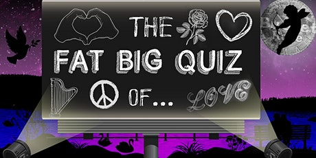BucketRace The Fat Big Quiz of... Love tickets