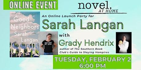 Novel at Home: Sarah Langan with Grady Hendrix tickets