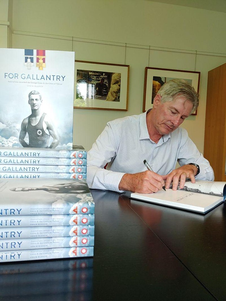 For Gallantry - Museum At Home Webinar image