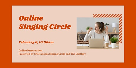 Online Singing Circle - ONLINE CLASS tickets