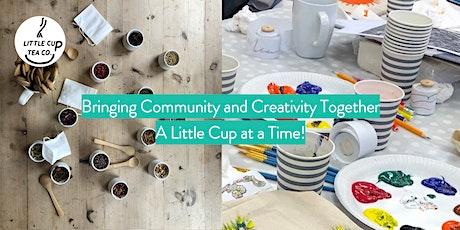 Taste + Create! Online Artistic Tea Blending Masterclass with A Little Cup tickets