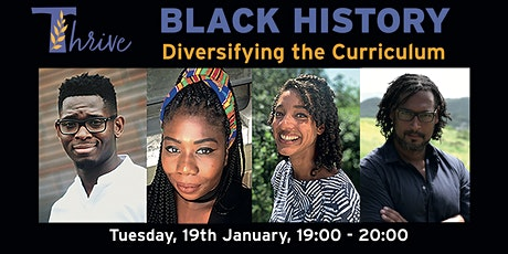 THRIVE Hachette presents -  Black History: Diversifying the Curriculum tickets