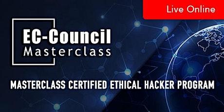 MasterClass Certified Ethical Hacker Program tickets