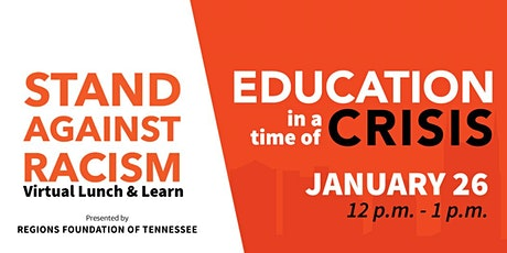 Stand Against Racism: Education in a Time of Crisis tickets