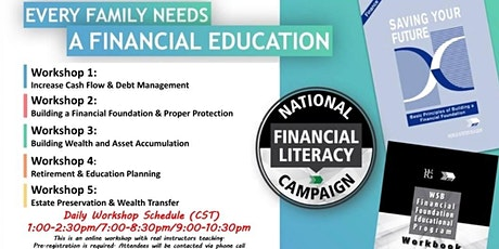 Financial Education Workshop-Daily Weekday Event 2021 tickets